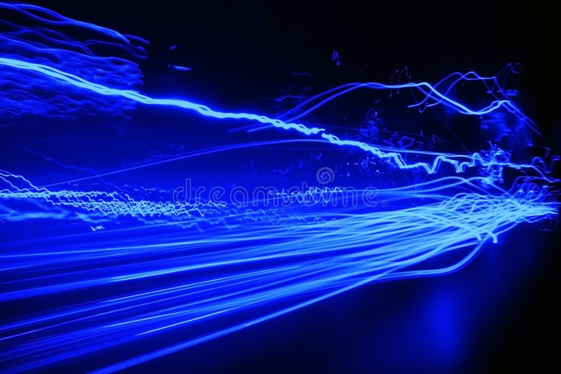 Download Blue abstract stock photo. Image of beam, trace, curve - 2713070