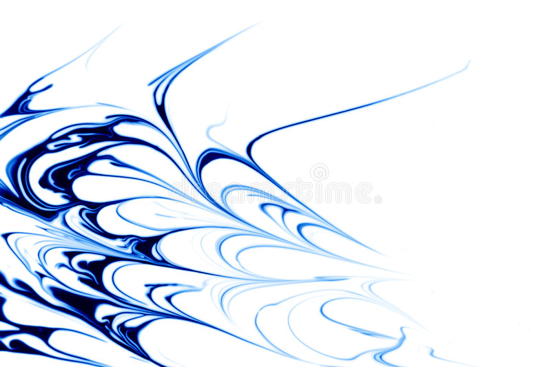 Blue abstract vector illustration