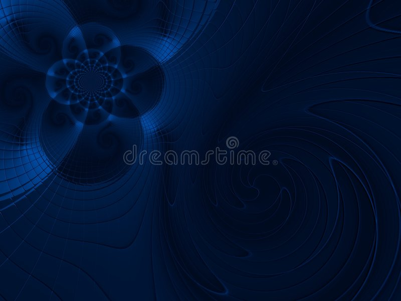 Download Blue Abstract stock image. Image of generated, fantasy - 4974523
