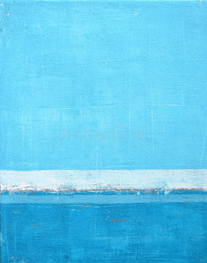 Blue Abstract Art Painting royalty free stock images