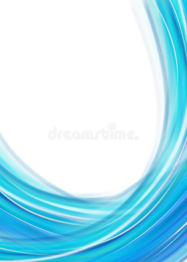 Blue abstract background. For your business artwork royalty free illustration