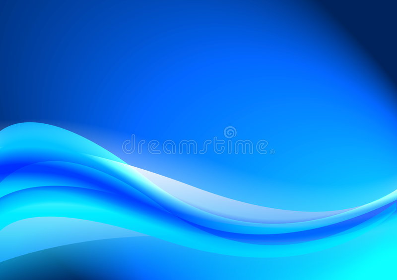 Blue abstract background. Blue abstract composition background illustration vector stock illustration