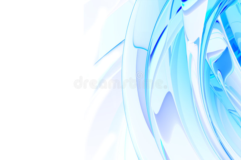 Blue abstract background vector illustration
