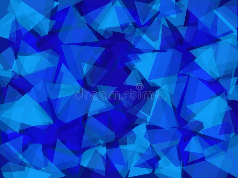 Blue abstract background. royalty free stock images