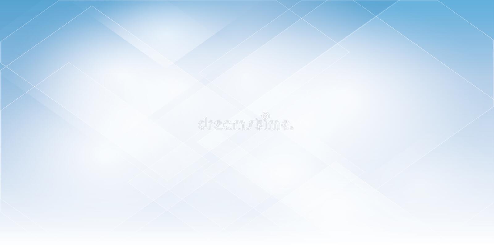 Blue Abstract background geometry shine and layer element vector illustration