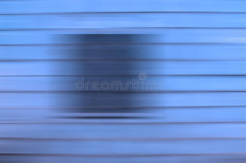 Blue Abstract Background. A blue abstract panel background with horizontal slats or lines. Photo taken on: October 29th, 2014 stock photo