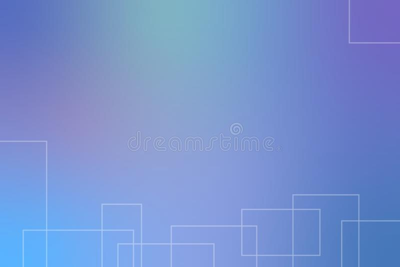 Blue abstract background with place for your text.Vector illustration. stock illustration