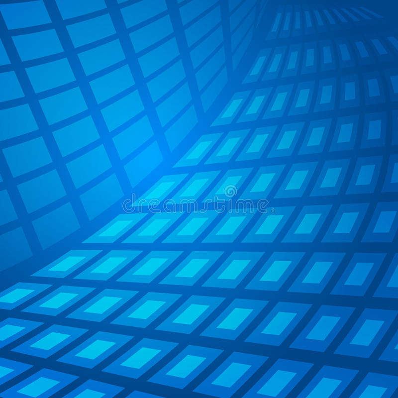 Blue-abstract vector illustration