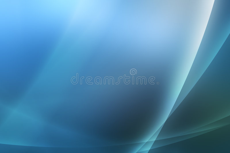 Download Blue Abstract Background / Wallpaper Stock Illustration - Image: 8554024