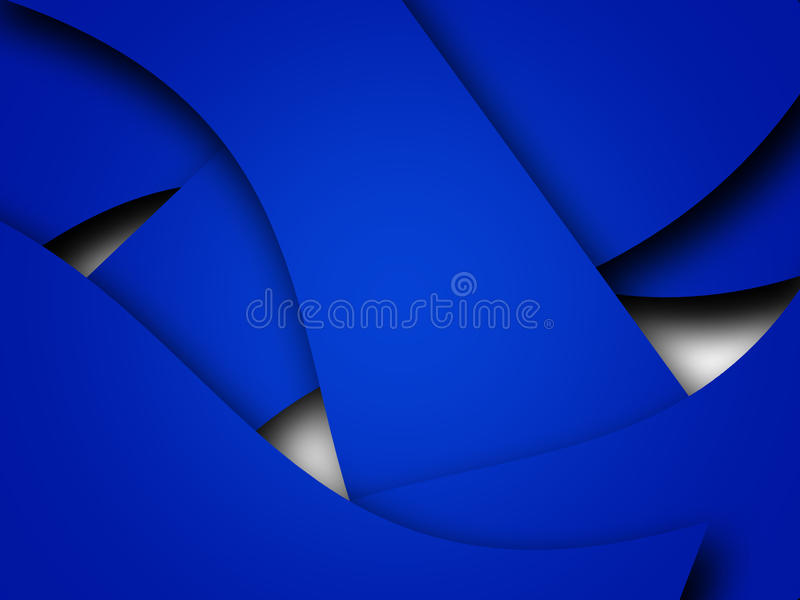 Blue Abstract Backgrounds stock illustration