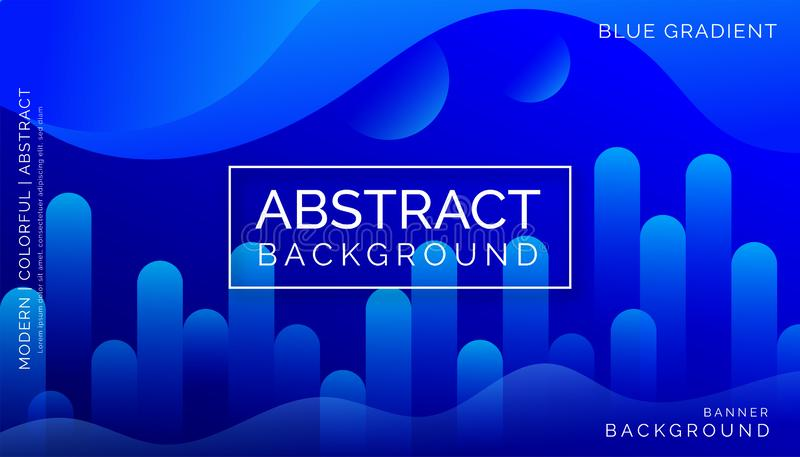Blue Abstract Backgrounds, Modern Colorful Backgrounds, Dynamic Abstract Backgrounds royalty free stock photos