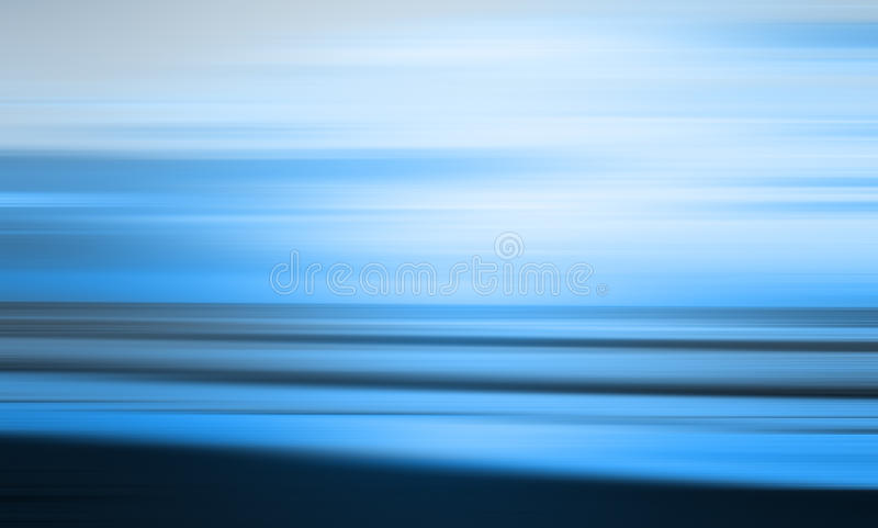 Blue abstract beach. Abstract blue blurred beach scene background royalty free stock photos