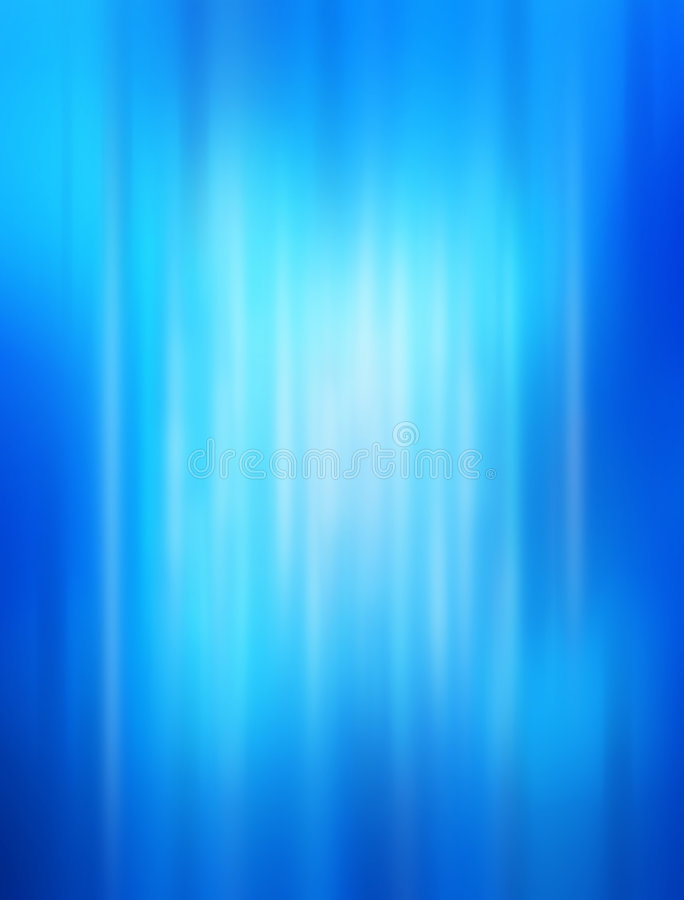 Blue Abstract Blur Background. An abstract background made of blue colors and vertical bands royalty free stock image