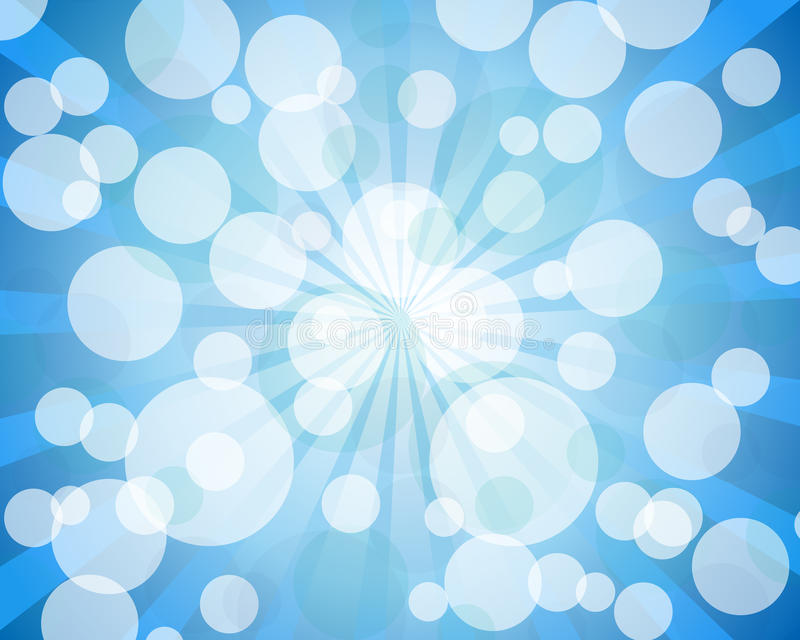 Download Blue abstract bokeh stock vector. Illustration of bright - 17868450