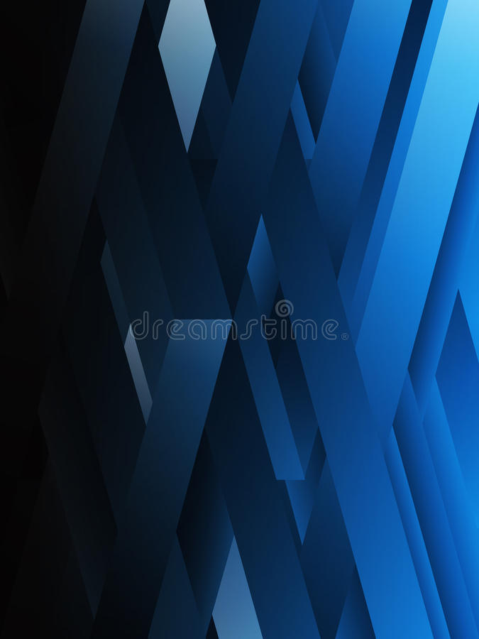 Download Blue Abstract Geometric Background. Stock Vector - Illustration of network, decoration: 19016535