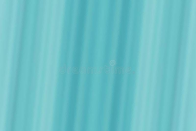 Blue abstract glass texture background or pattern, creative design template royalty free illustration