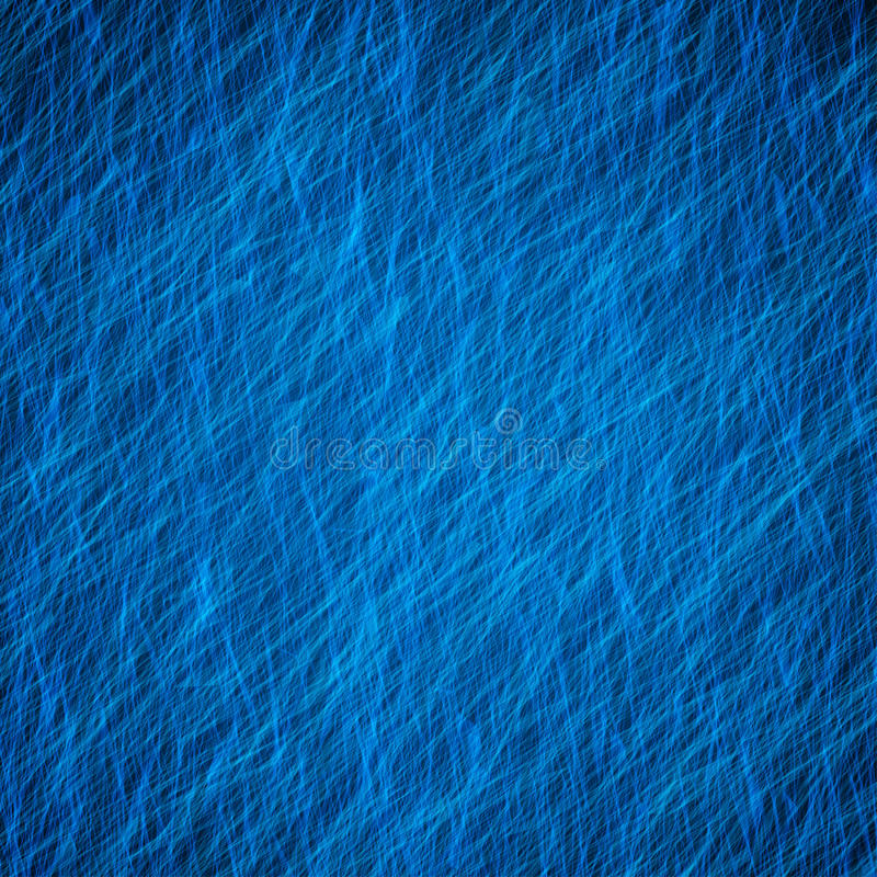 Blue Abstract Grunge Background Texture With Light Stock