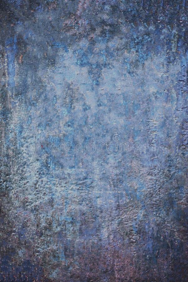 Blue Abstract Grunge Decorative old dramatic dark textured Background royalty free stock photo