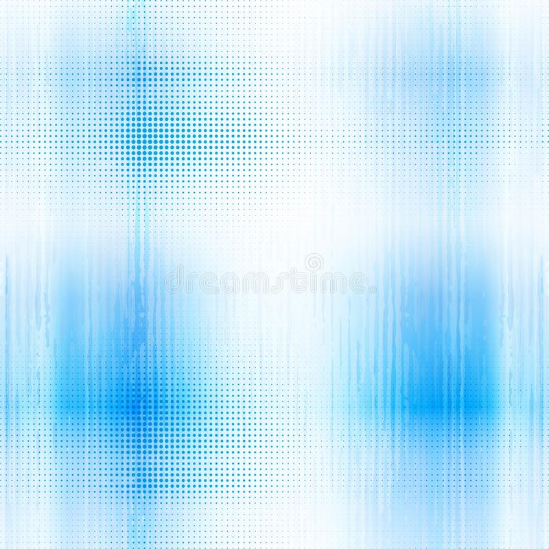 Blue abstract halftone background royalty free illustration