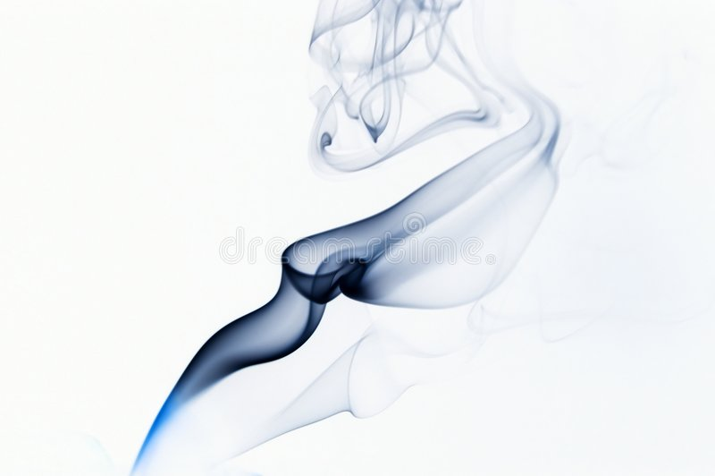 Download Blue Abstract Isolated Smoke Stock Image - Image: 8468097