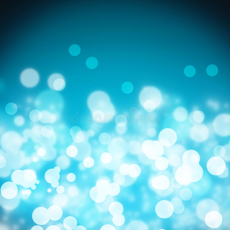 Blue abstract light background vector illustration