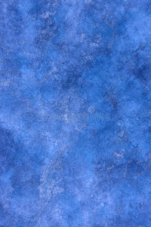 Blue Abstract Painted Background. An abstract blue painted canvas background