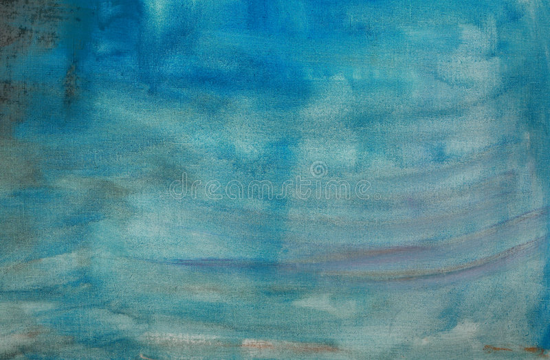 Download Blue Abstract Painted Canvas Royalty Free Stock Photos - Image: 2251838