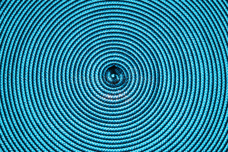 Blue abstract spiral background stock photos
