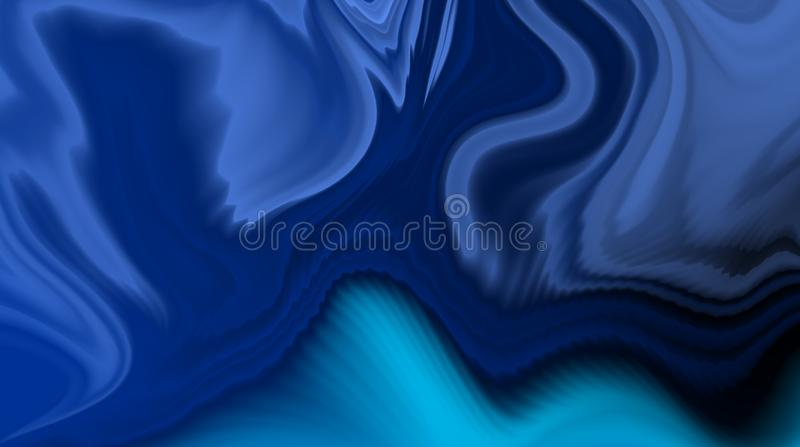 Blue blur abstract background. royalty free stock photography