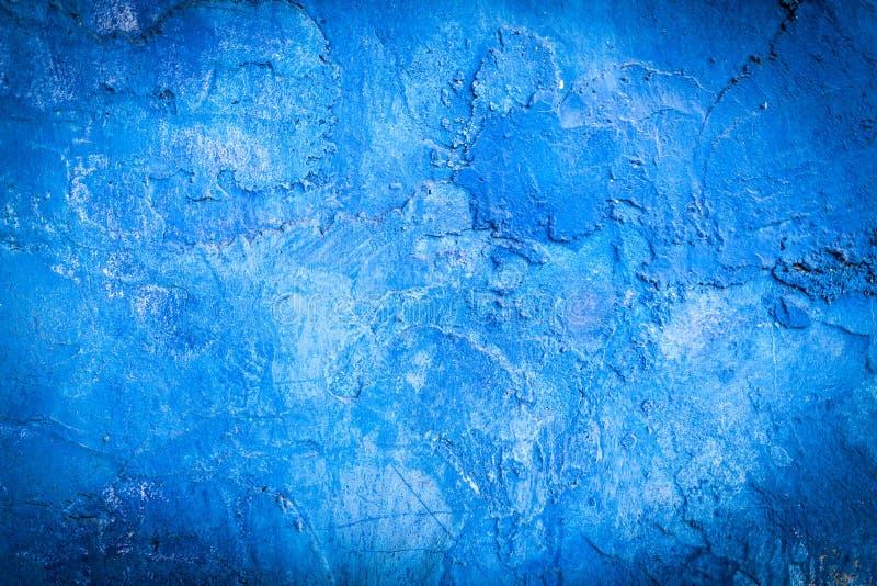 Blue Abstract Wall royalty free stock photo