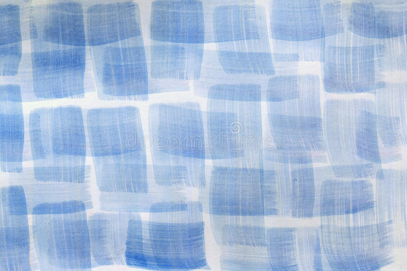 Blue abstract watercolor background stock illustration