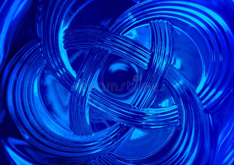 Blue abstract wave background stock photography