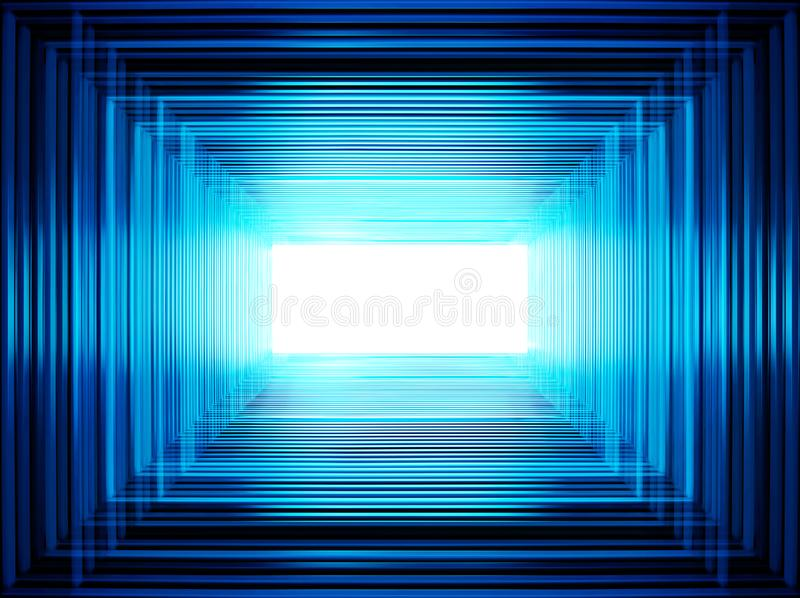 Blue abstraction for designers. Blue abstract background like technology templates texture for designers royalty free illustration