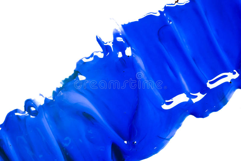 Blue acrylic Color, Background royalty free stock photography