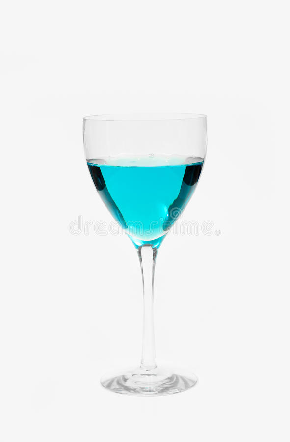 Blue Alcohol Royalty Free Stock Photos