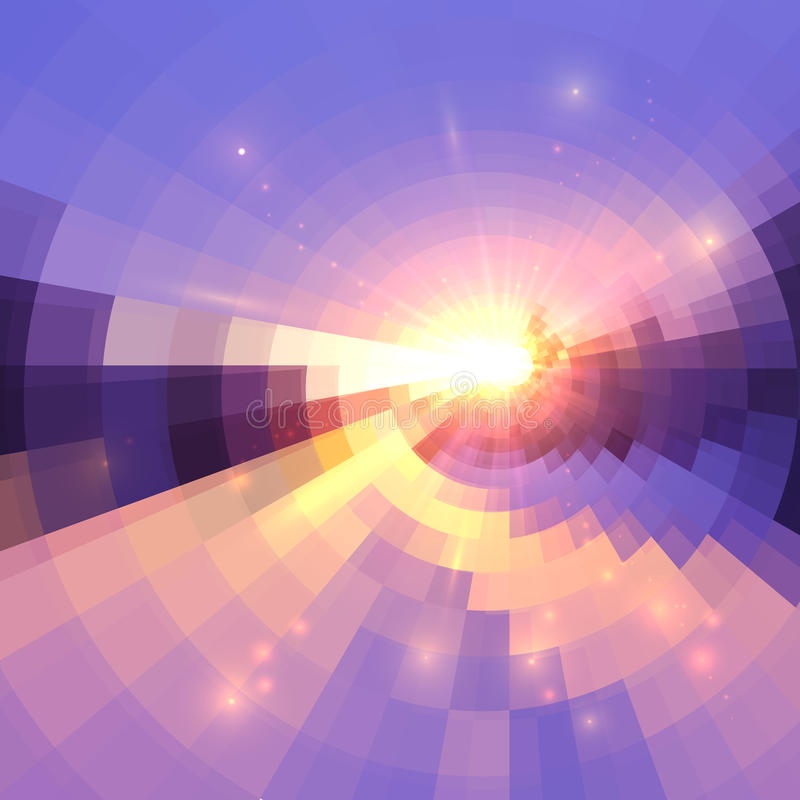 Free Blue And Pink Colors Concentric Shining Mosaic Abstract Background Royalty Free Stock Photo - 79070235