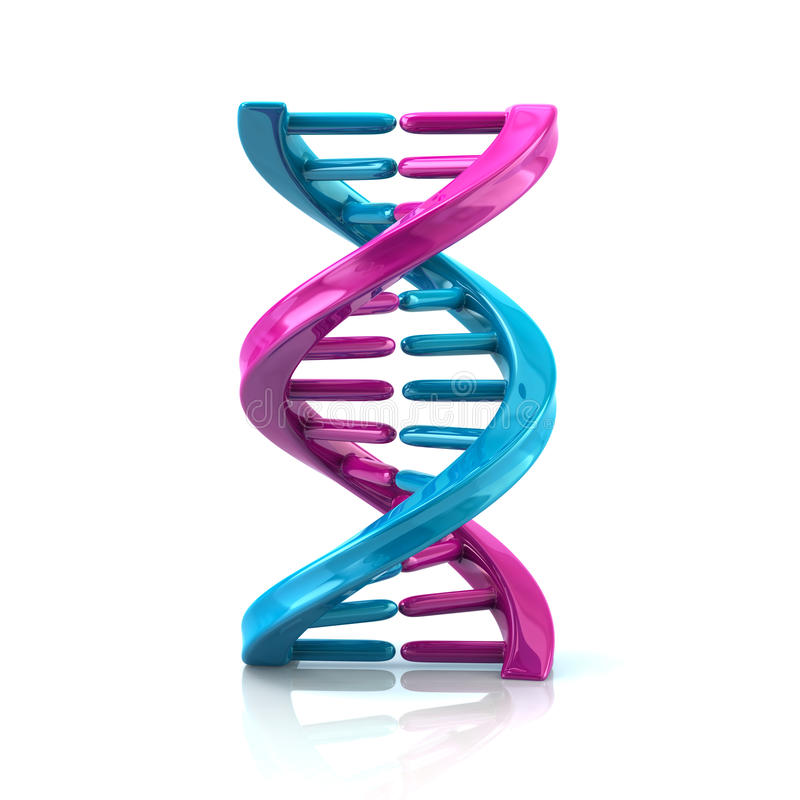 Free Blue And Purple DNA Molecule Stock Photo - 90919610