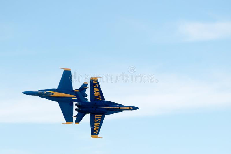 Blue Angels Jets royalty free stock image