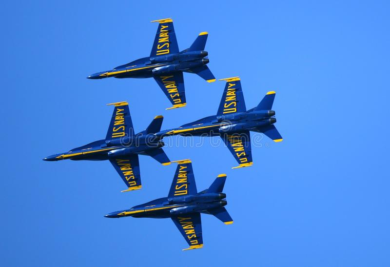 Blue Angels Air Show stock photos