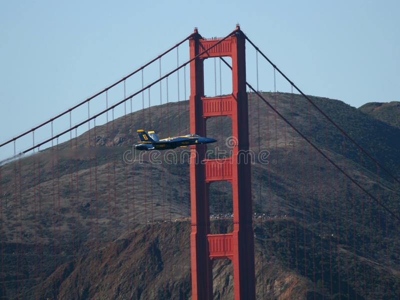 Blue Angels Air Show stock images
