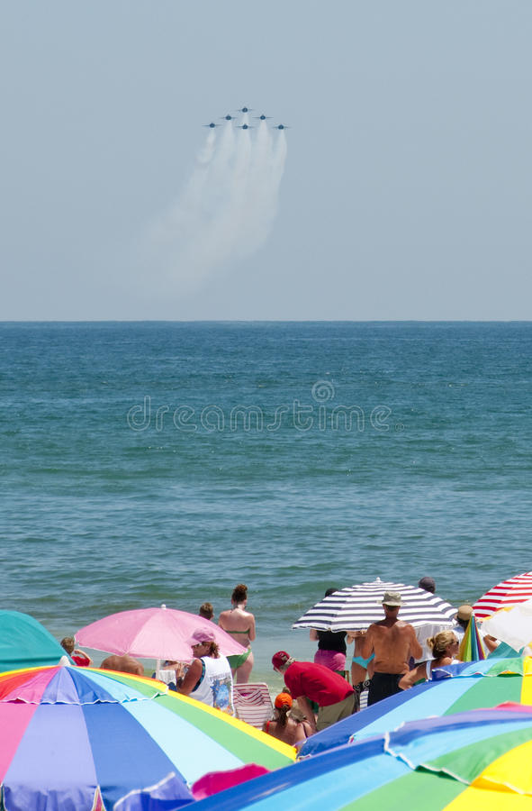 Download Blue Angels Pensacola Beach Airshow Editorial Image - Image: 15076855