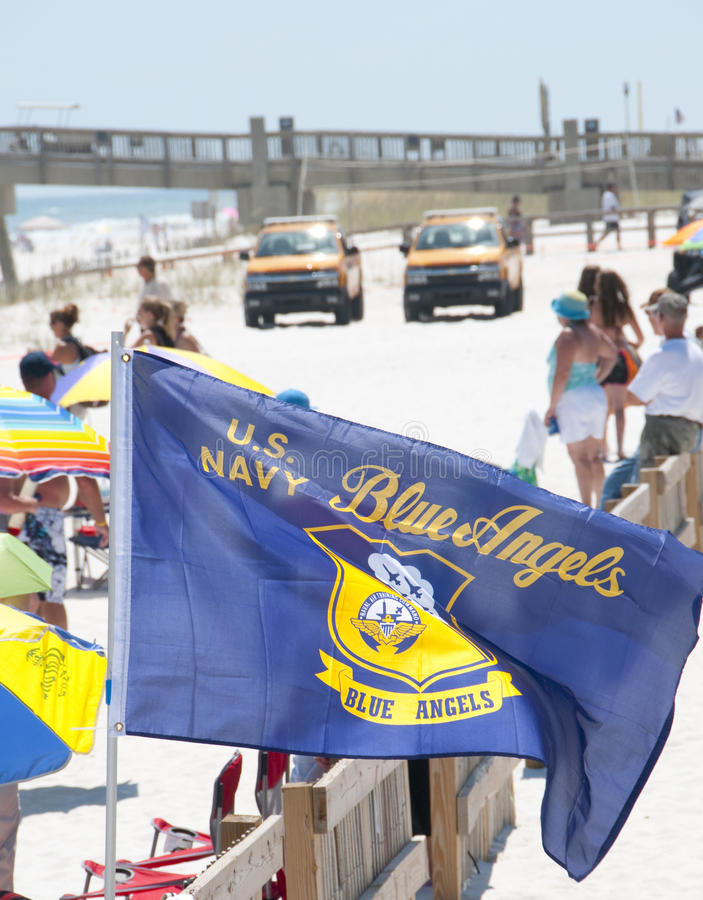 Download Blue Angels Pensacola Beach Airshow Editorial Stock Image - Image: 15076964