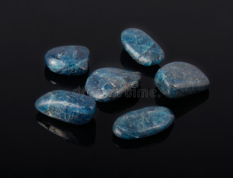 Blue Apatite royalty free stock image
