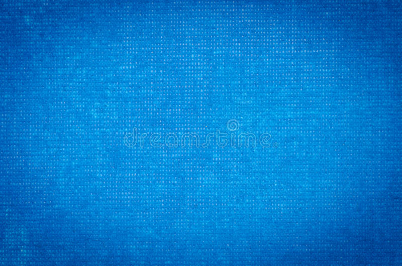 Blue Artistic Canvas Painted Background Stock Photo