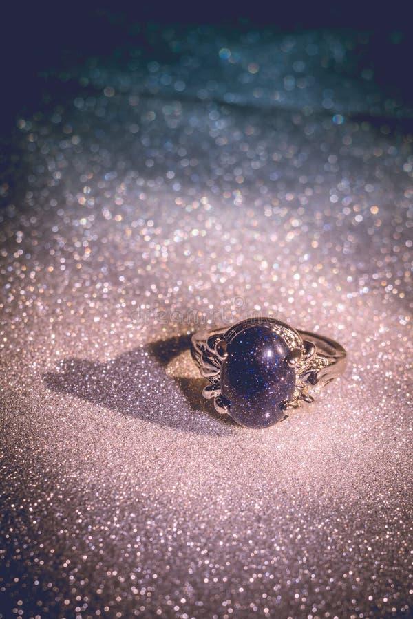 Blue Aventurine Ring stock image. Image of background - 91947747