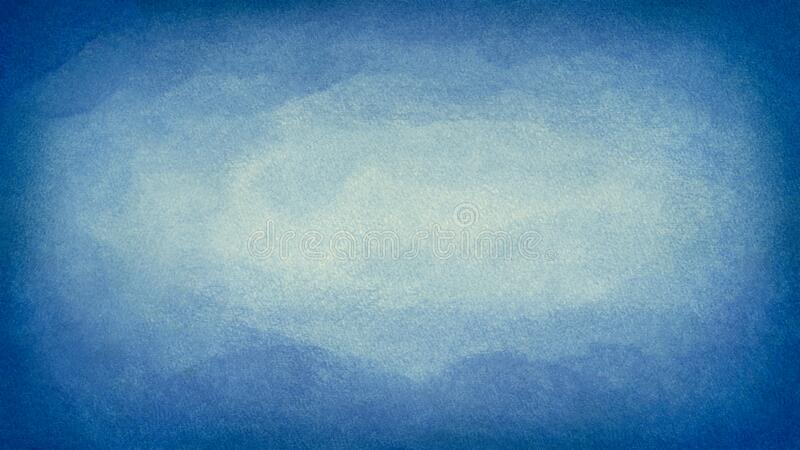 Blue azure turquoise abstract watercolor background for textures backgrounds and web banners design royalty free stock photography