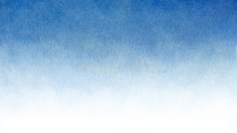 Blue azure turquoise abstract watercolor background for textures backgrounds and web banners design stock photo