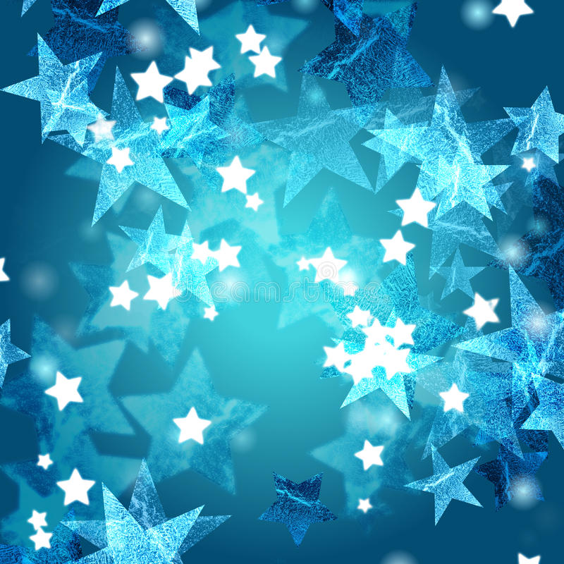 Download Blue Azure And White Stars Royalty Free Stock Photography - Image: 22736437