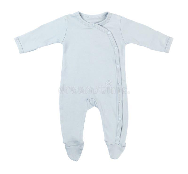 Blue Baby Sleeper stock photos