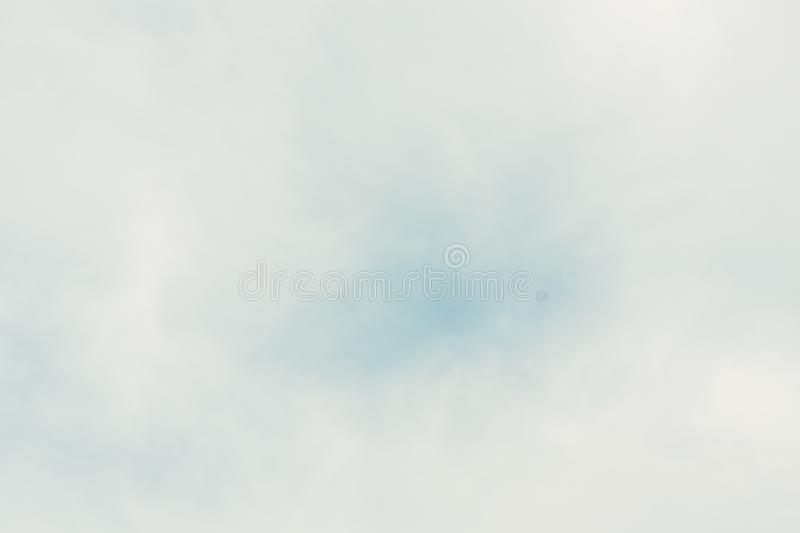 Blue backdrop in the air for text stock photography
